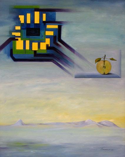 Hommage à Magritte oder Metamorphose des Realen