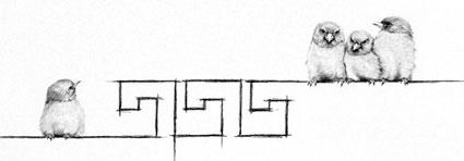 Dreierbande (4) im antiken Griechenland