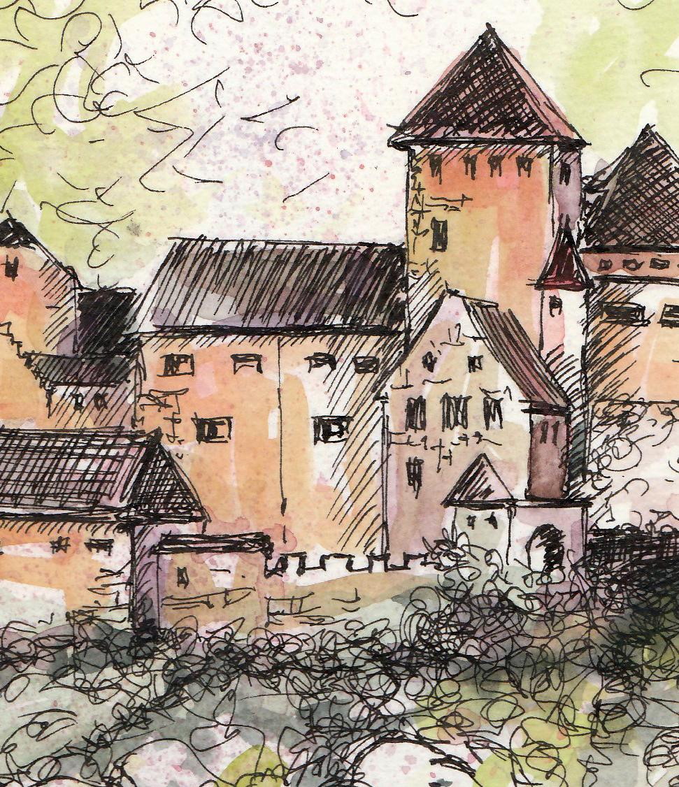 Urban Sketching – Reiseskizzen