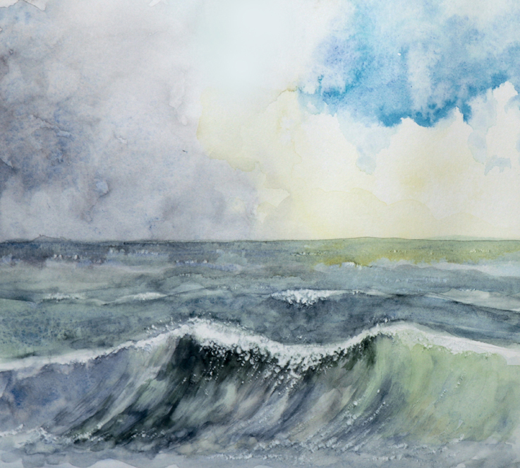 Aquarellmalerei spezial: Meer, Schnee, Wolken in Aquarell und Gouache